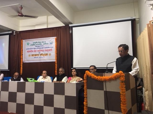 CCIM President Vd. Jayant Devpujari