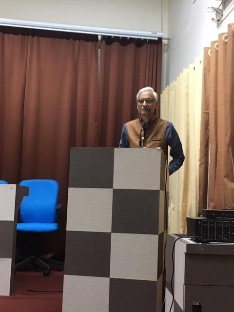 President Ayurved Vyaspeeth -Vd santosh nevpurkar